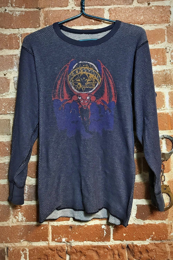Black Sabbath Long Sleeve Thermal Knit Tee
