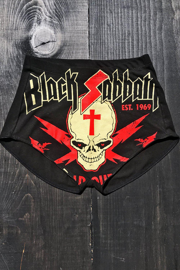 IN STOCK NOW Black Sabbath 1969 T-Shirt Shorts・Size S