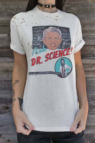 1980s Ask Dr. Science Thin 'N Worn Tee
