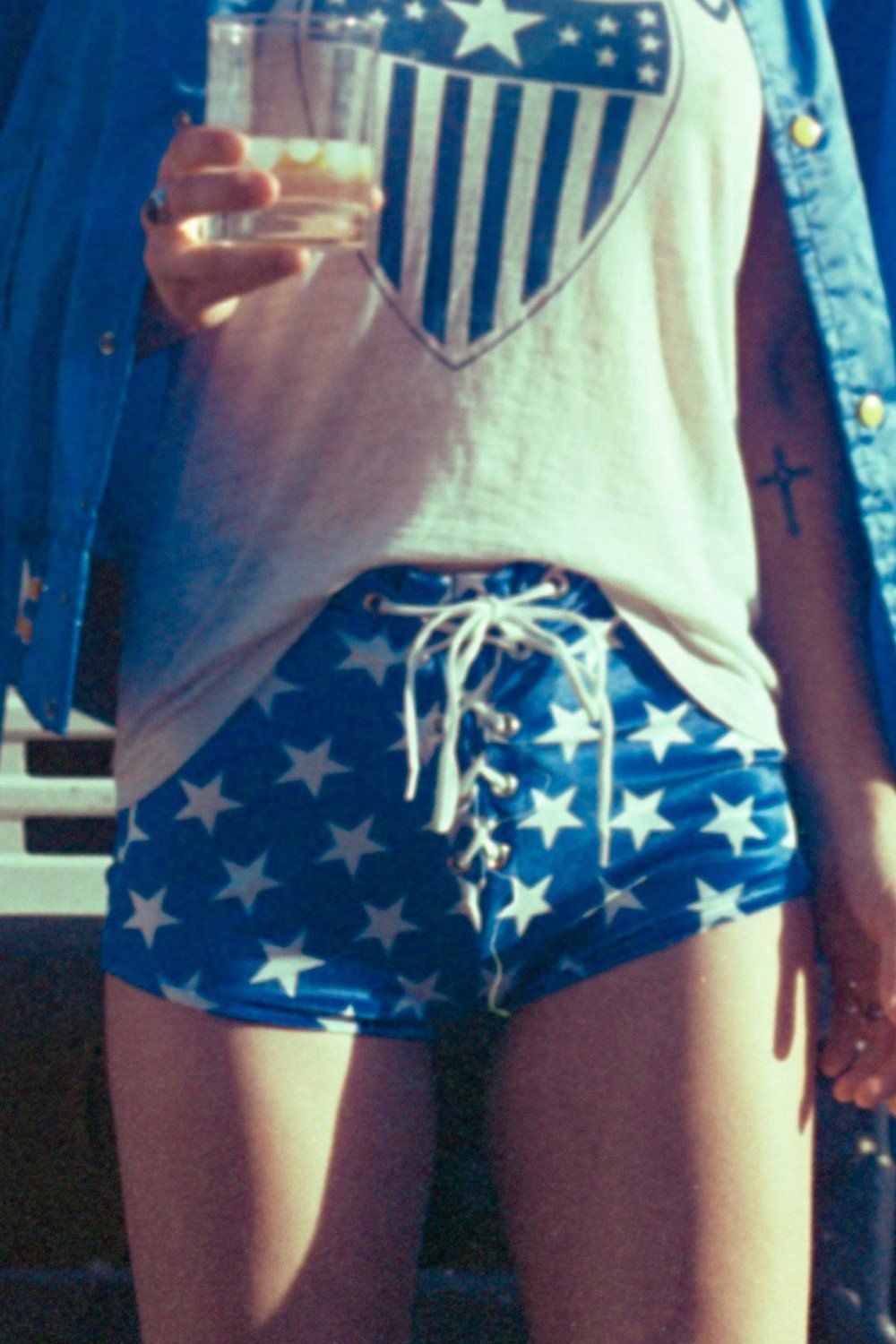 Velvet Grommet Shorts・Evel Knievel, bottoms, BAD VIBES, BACKBITE