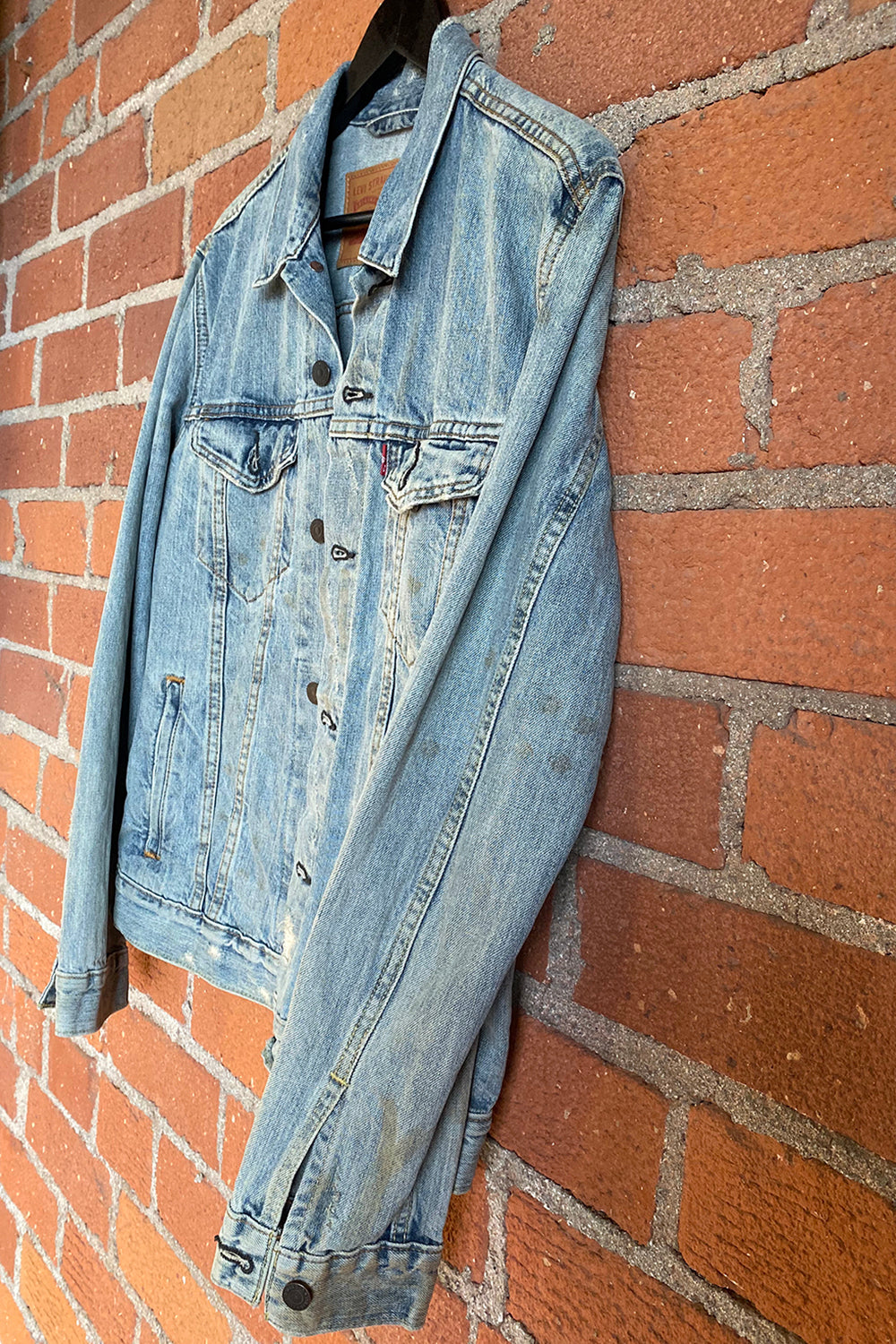 Perfect Worn-In Levi's Denim Jacket, Outerwear, BACKBITE, BACKBITE