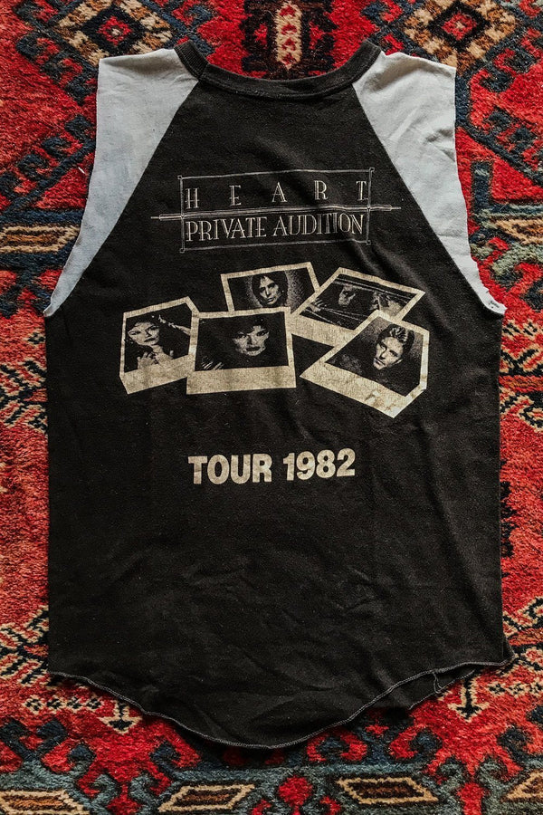 1982 Heart Private Audition Sleeveless Soft 'N Paper Thin 50/50 Tee