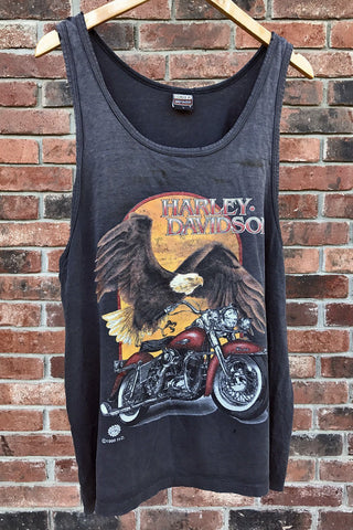 Harley Country Thin and Worn Tank Top
