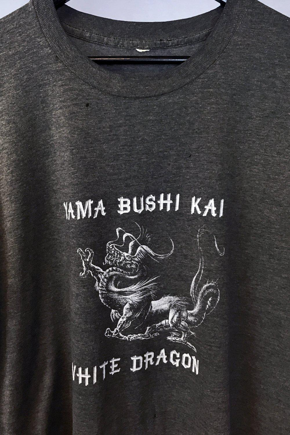 Paper Thin Heavily Worn Yama Bushi Kai White Dragon Tee
