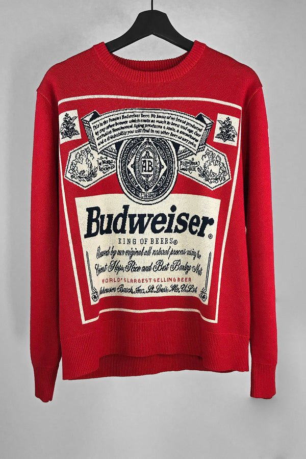 King Of Beers • Collectors Budweiser Sweater