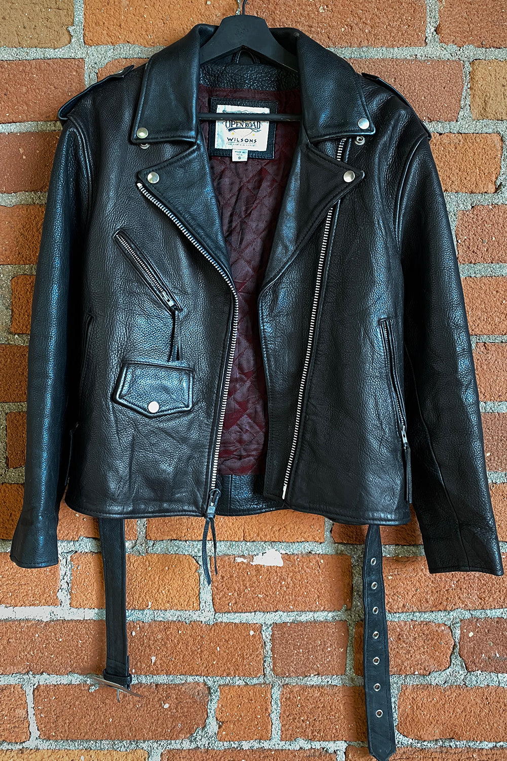 Open Road Perfect Black Leather Jacket