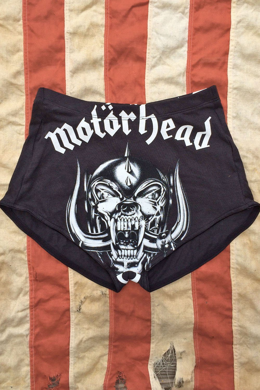 PRE-ORDER Motörhead T-Shirt Shorts, bottoms, BAD VIBES, BACKBITE