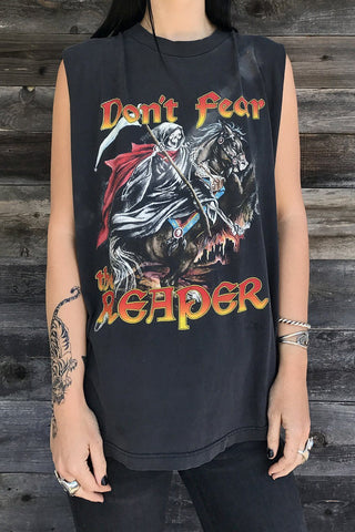 Don't Fear The Reaper Thin 'N Faded Sleeveless Tee
