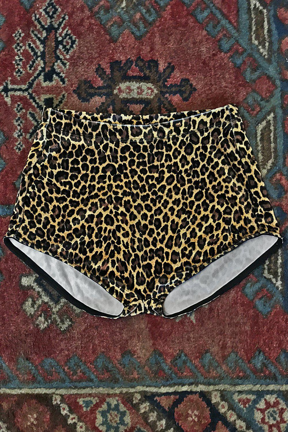 Classic Velvet Hot Shorts・Various Animal Prints Available