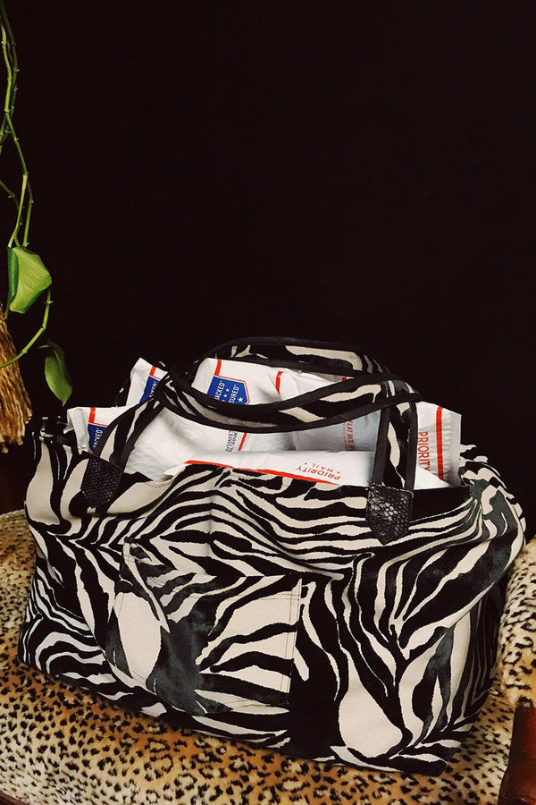 The Big Bag in Zebra