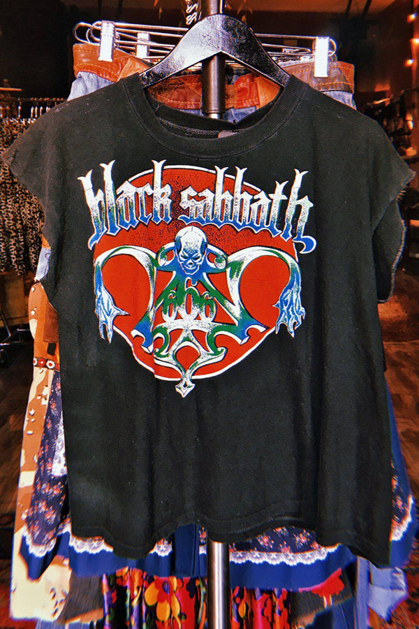 RARE 1980s Sabbath Bloody Sabbath Heavily Worn Tee