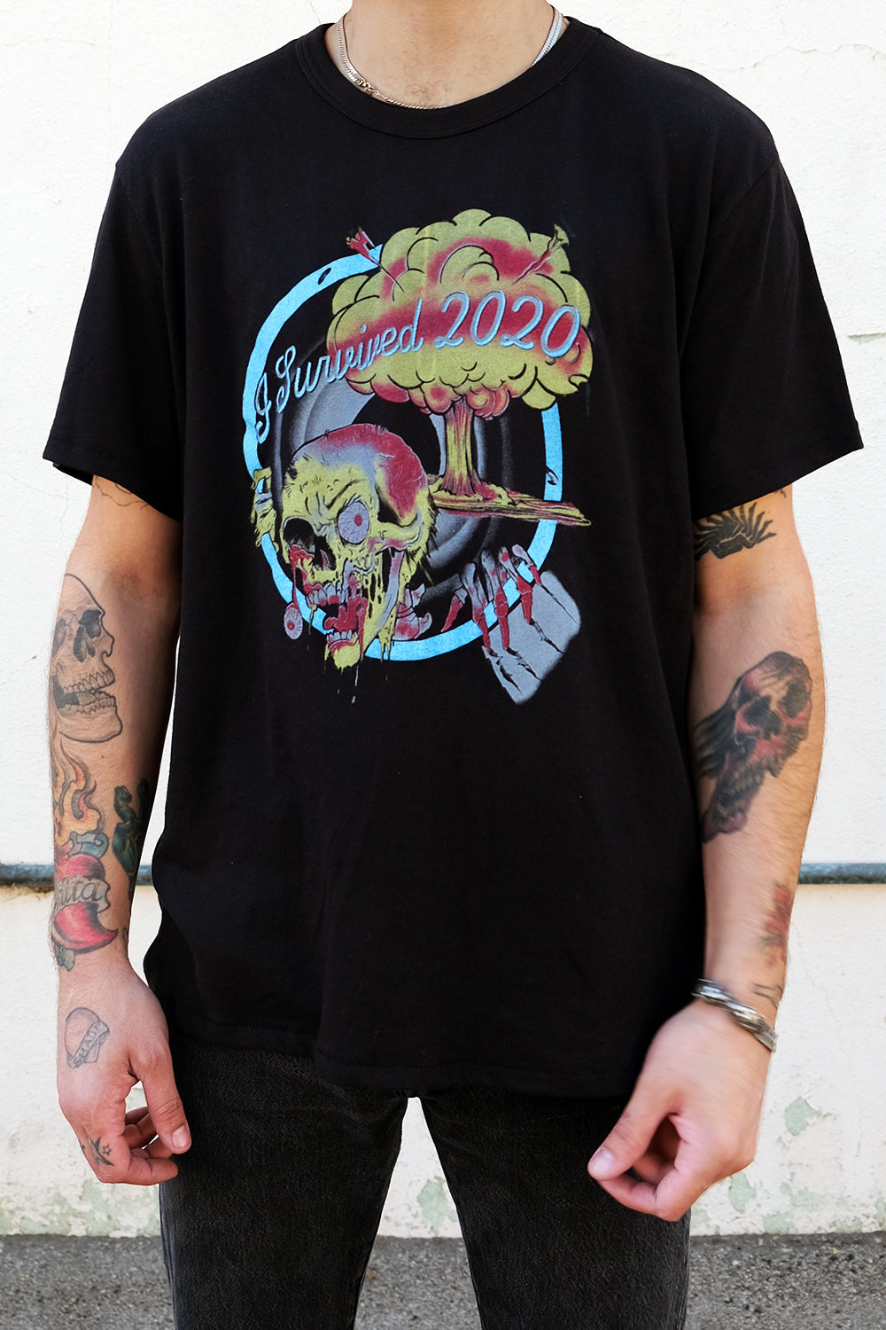 2020 Explosion Unisex 50/50 Black Tee by Gimme Danger | In Stock