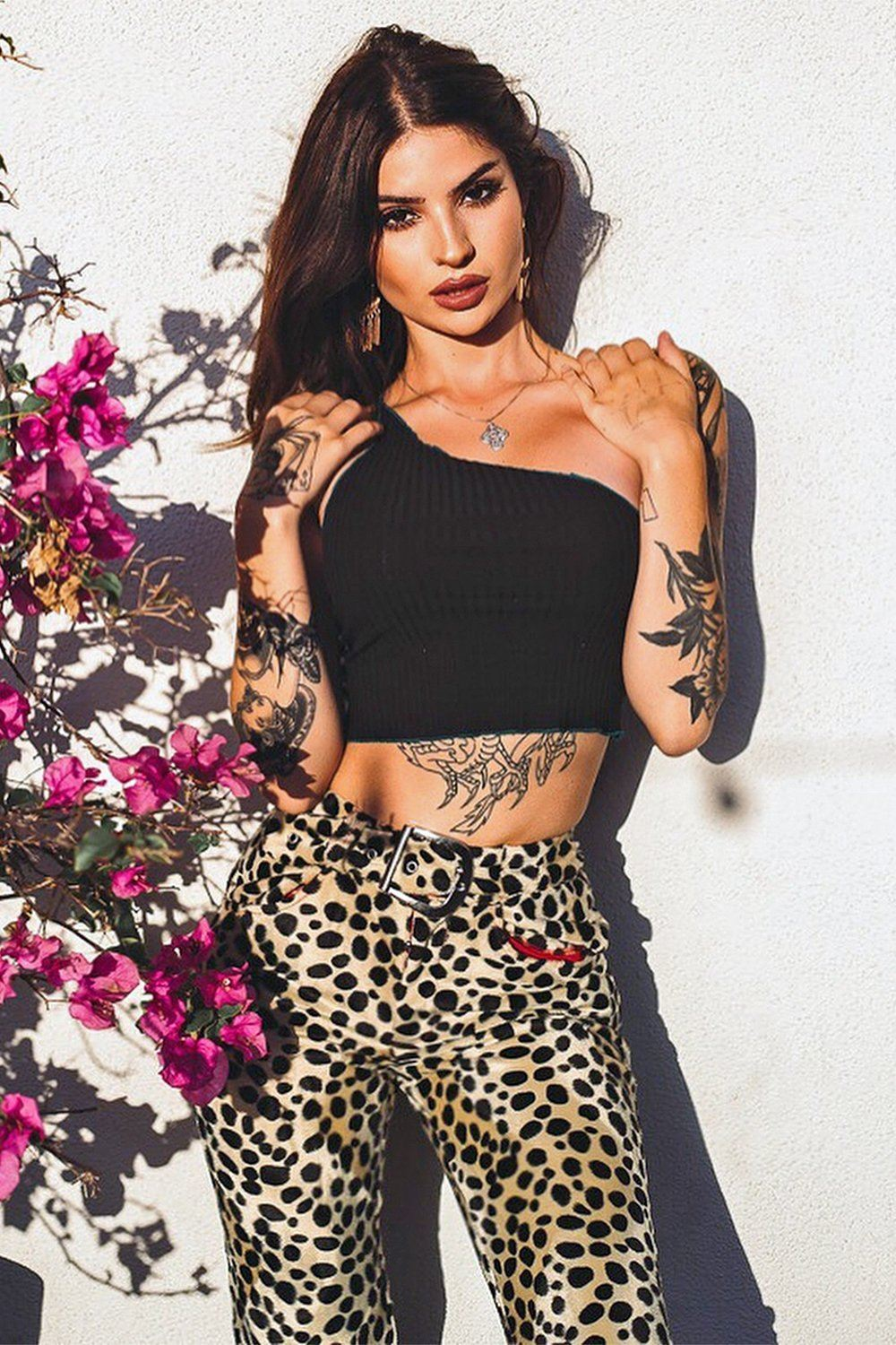 *Low Stock Alert!* Electric 77 Dalmatian Cigarette Pants (Pre-Order Open For All Sizes!), bottoms, BACKBITE, BACKBITE