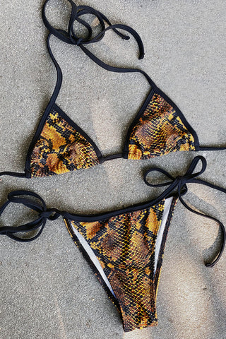 Red Cobra String Bikini | SOLD OUT