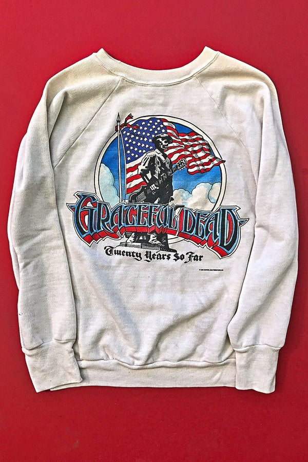 1985 Grateful Dead Soft 'N Worn 50/50 Sweatshirt