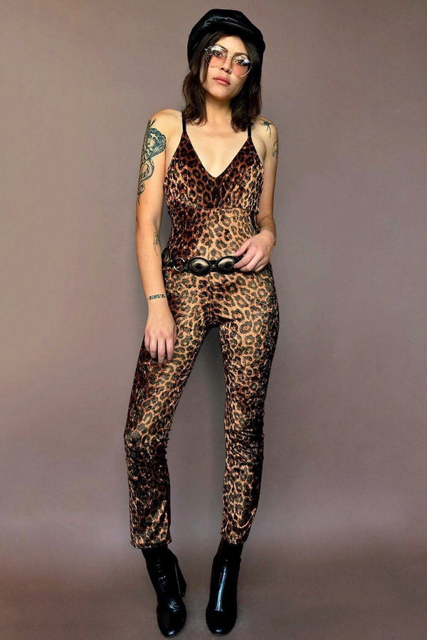The Tropicana Jumpsuit in Jaguar