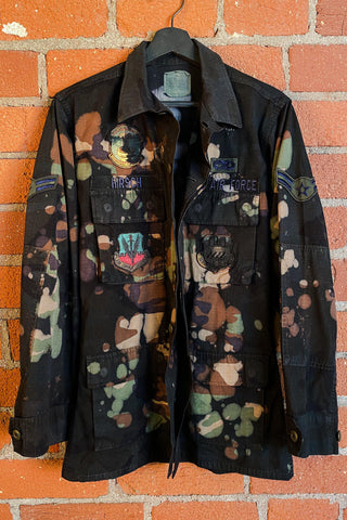 Reign In Blood Vintage Hand-Painted Leather Jacket