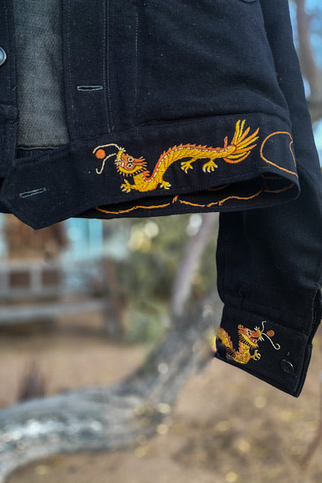 1946 Dragon Embroidered Chinese Souvenir Jacket