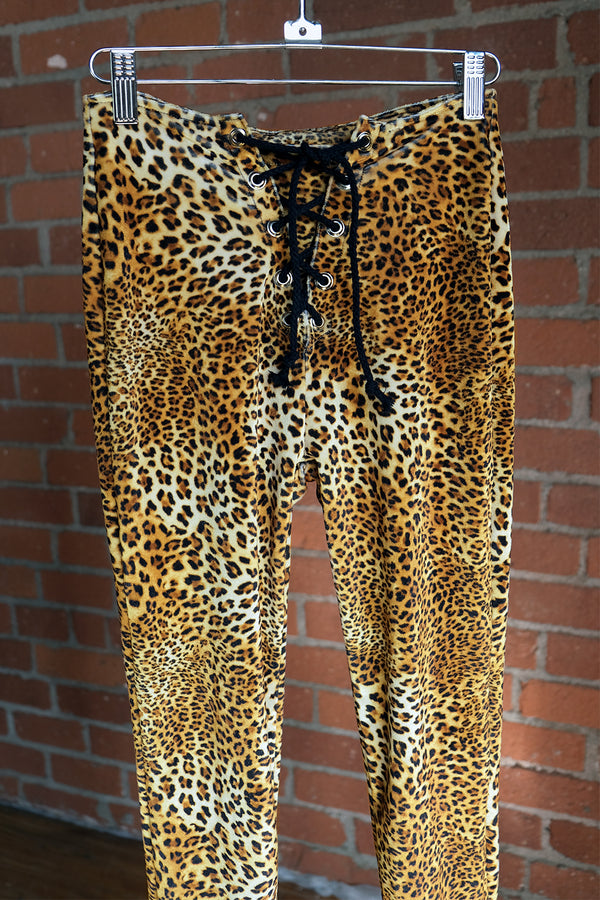 Jaguar Velvet Grommet Pants | Size XS In Stock