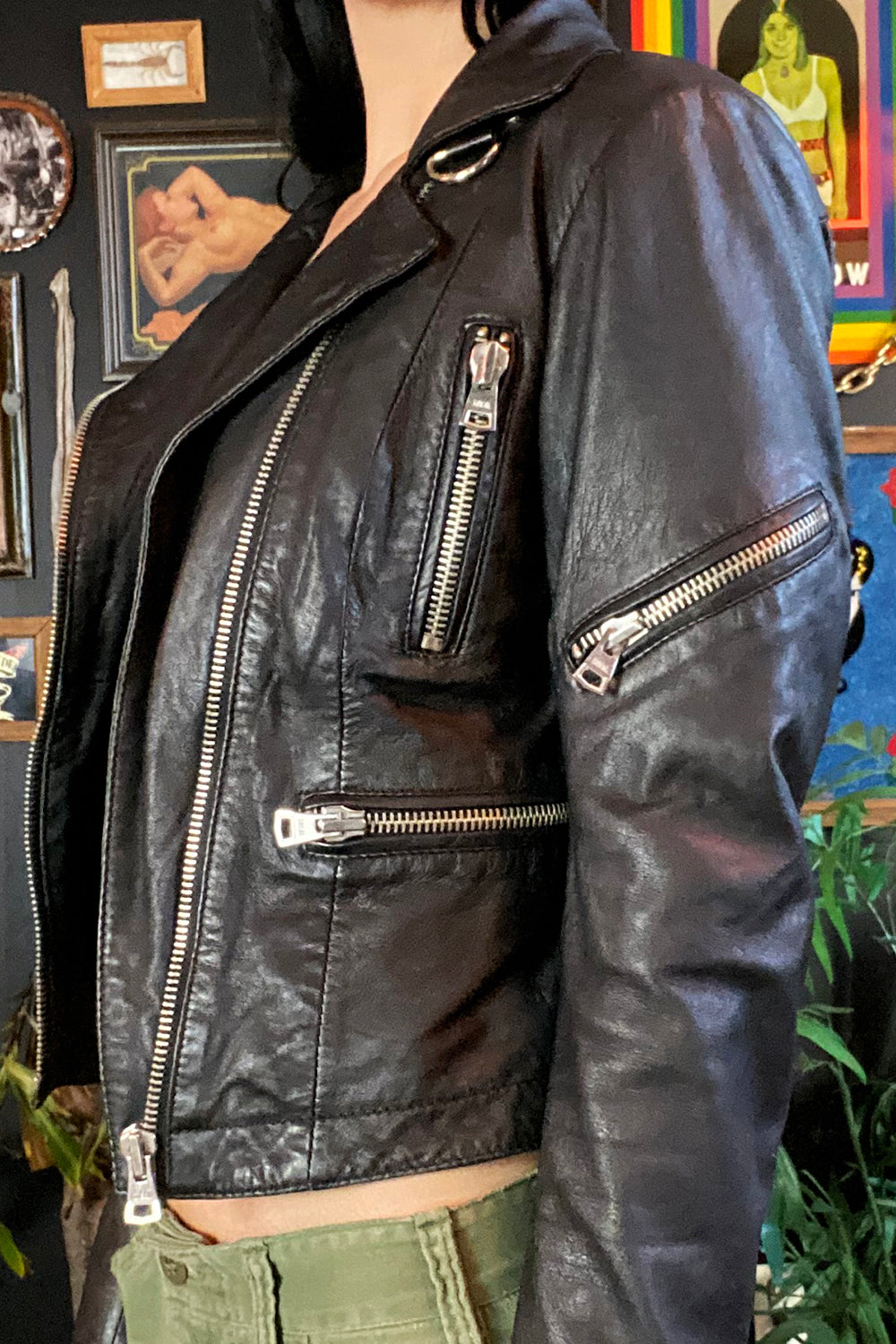 Kill City Lambskin Motorcycle Jacket, Outerwear, BACKBITE, BACKBITE