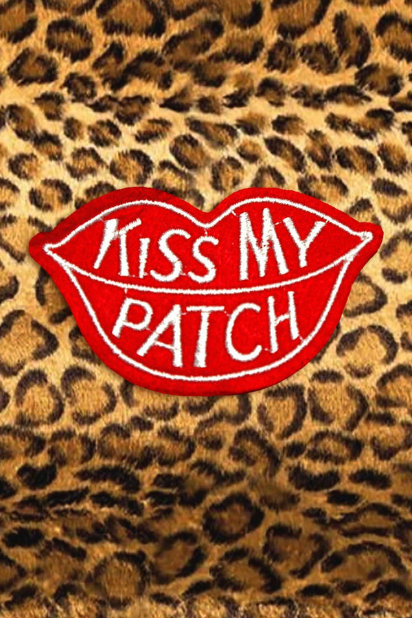 Kiss My Patch, Patches/Pins, BACKBITE, BACKBITE