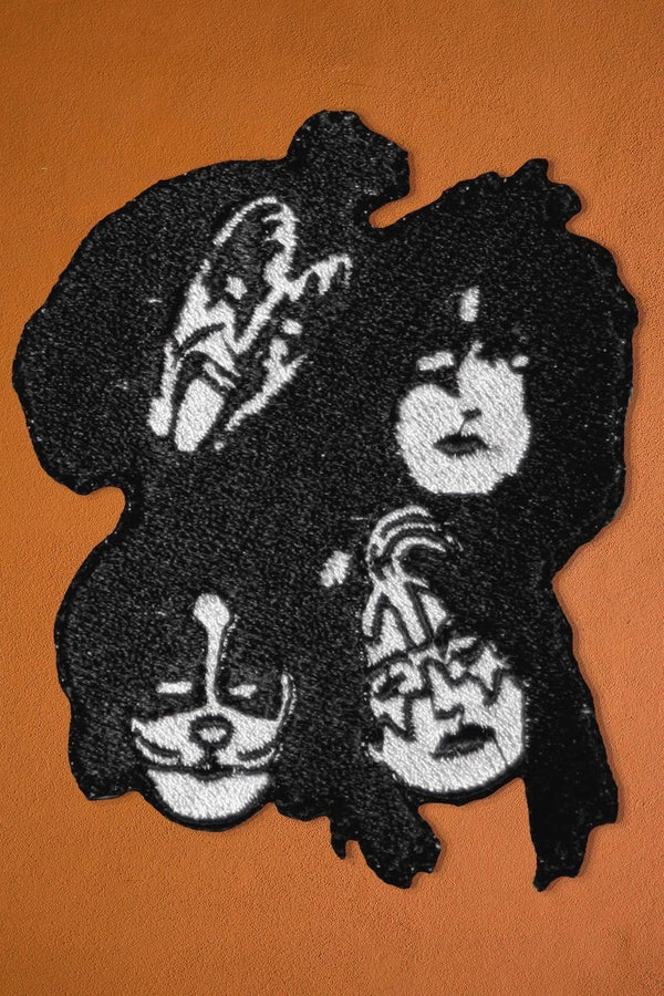 Hotter Than Hell Embroidered KISS Patch, Patches/Pins, BACKBITE, BACKBITE