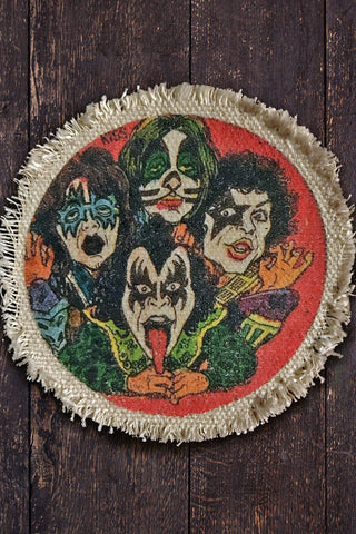 Paul⚡️Ace⚡️Peter⚡️Gene Recycled Canvas Patch