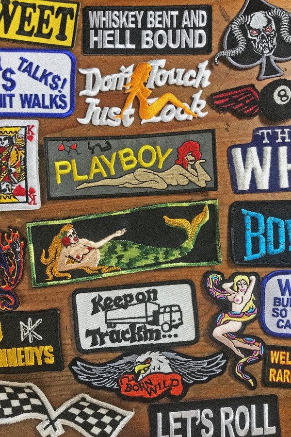 Vintage PLAYBOY Vietnam Liberty Cuff Patches