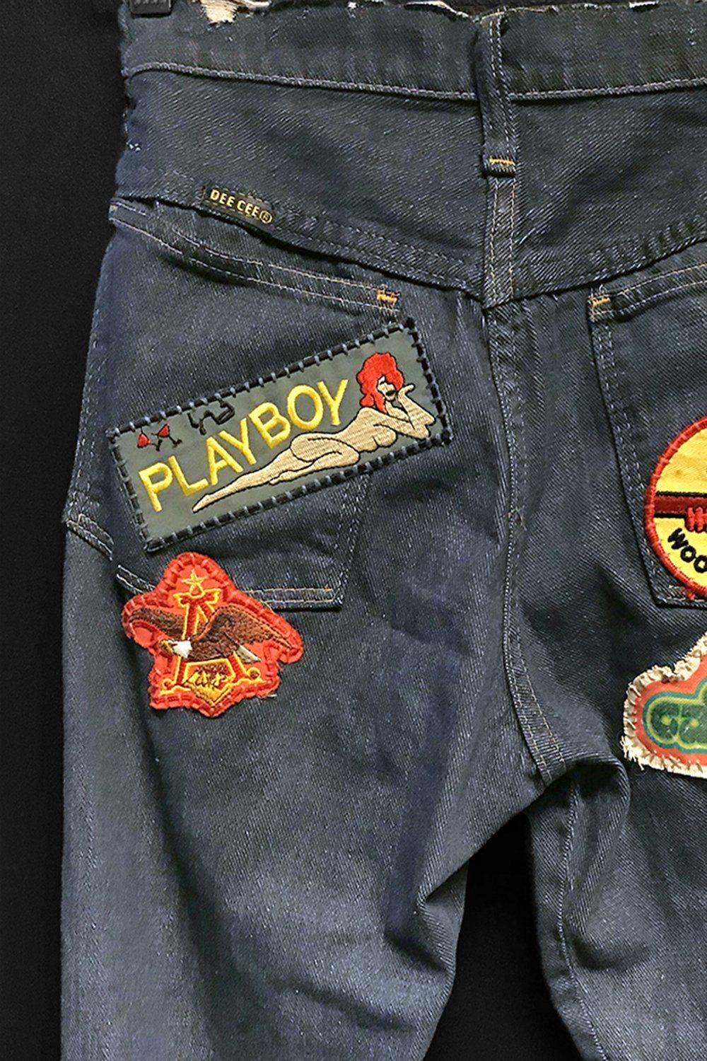 Vintage PLAYBOY Vietnam Liberty Cuff Patches・ALMOST GONE