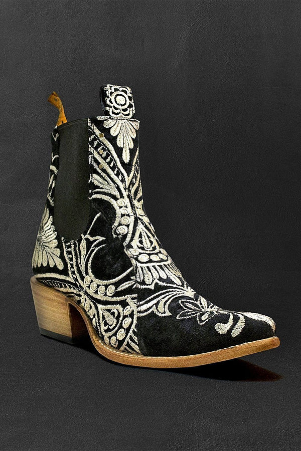 Embroidered Chelsea Boots by PSKaufman x Lenni