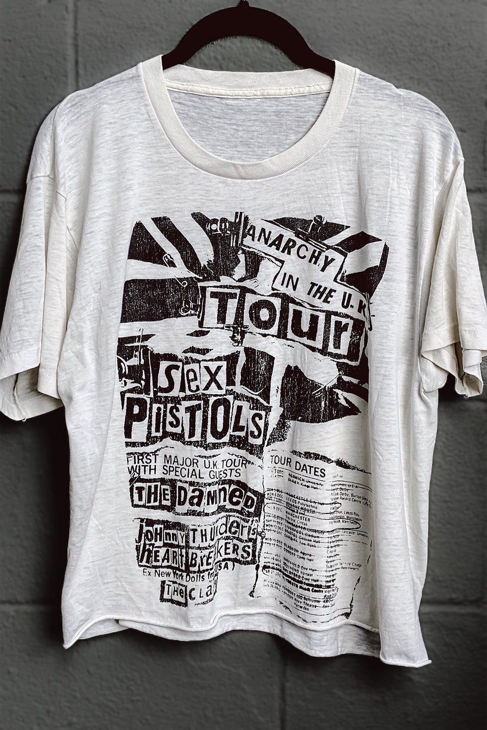 Vintage Sex Pistols Anarchy In The UK Tour Tee