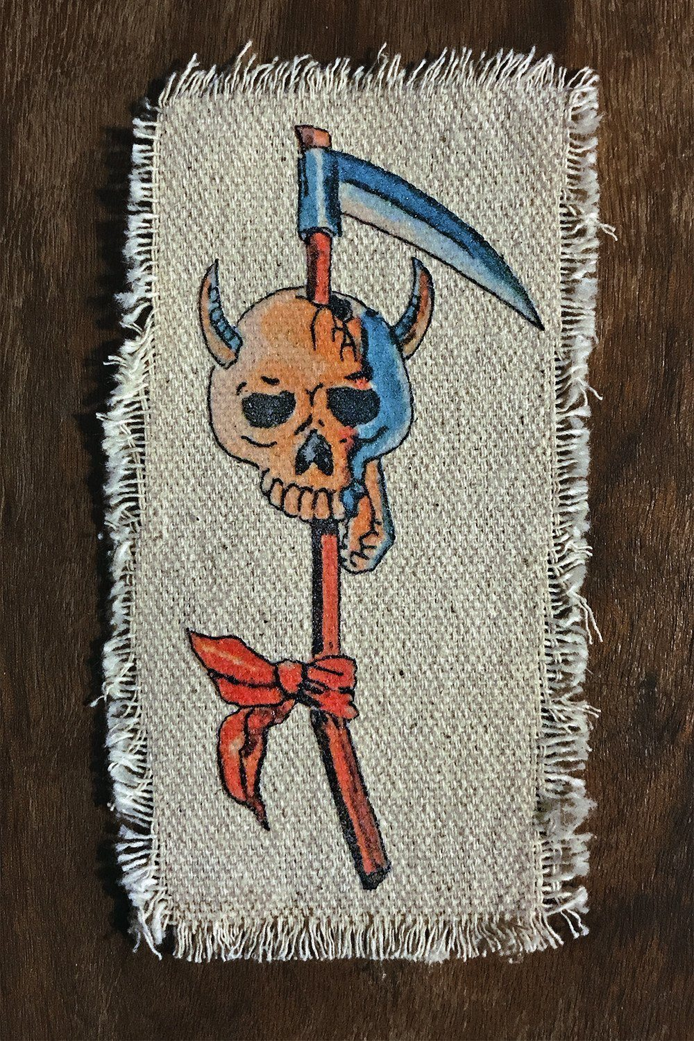 High Stakes ? Recycled Canvas Patch, Patches/Pins, IN HOUSE, BACKBITE