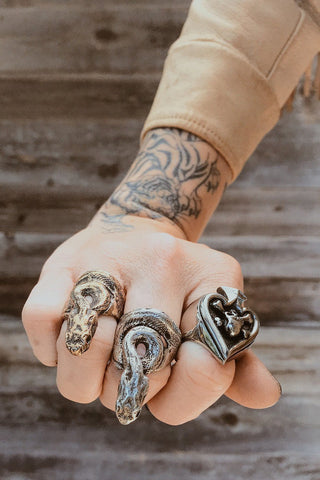 PRE-ORDER The Ishta Snake Ring By Earthling Jewelry