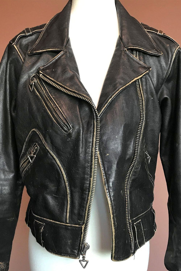 Born To Lose ✦ Perfectly Worn Leather Harley Davidson Jacket