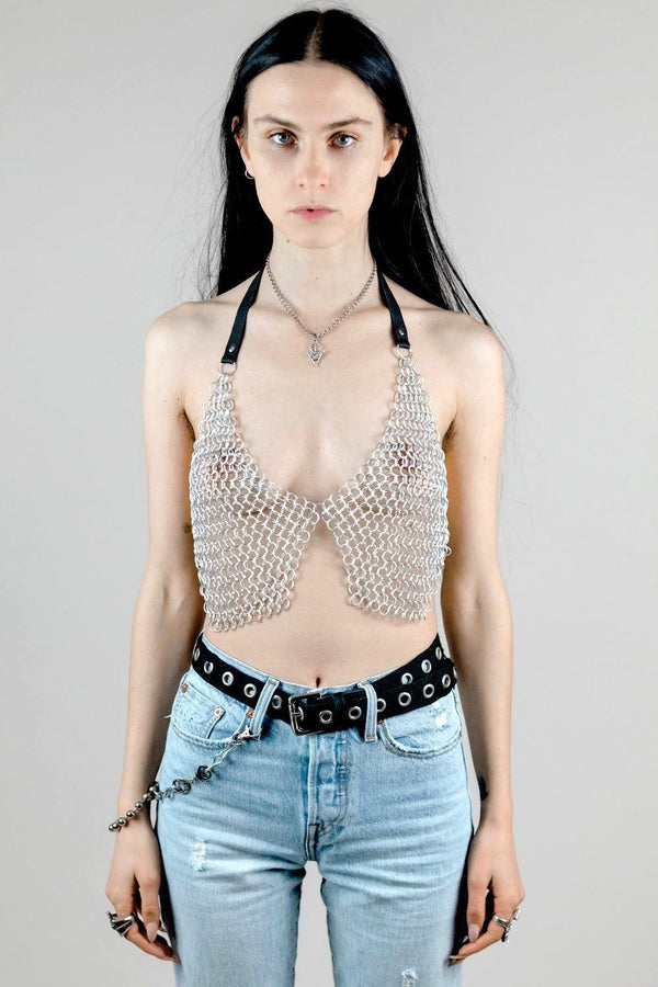 No Mercy Lightweight Metal Chainmail Top