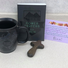Blessing Bag - Men's coffee mug and book