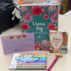 Blessing Bag - Devotional and gel pens