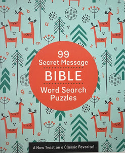 99 Secret Message Bible Word Search Puzzles