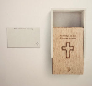 First Communion Prayer Box