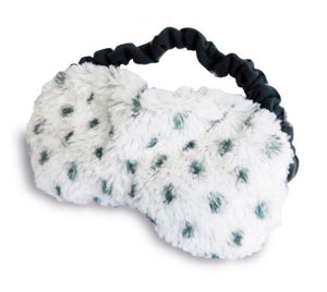 Eye Mask - Plush Snowy