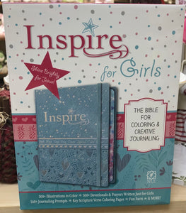 Inspire for Girls NLT HC