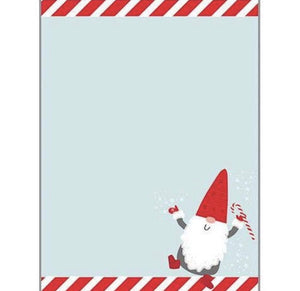 Holiday Memo Pad - Gnome