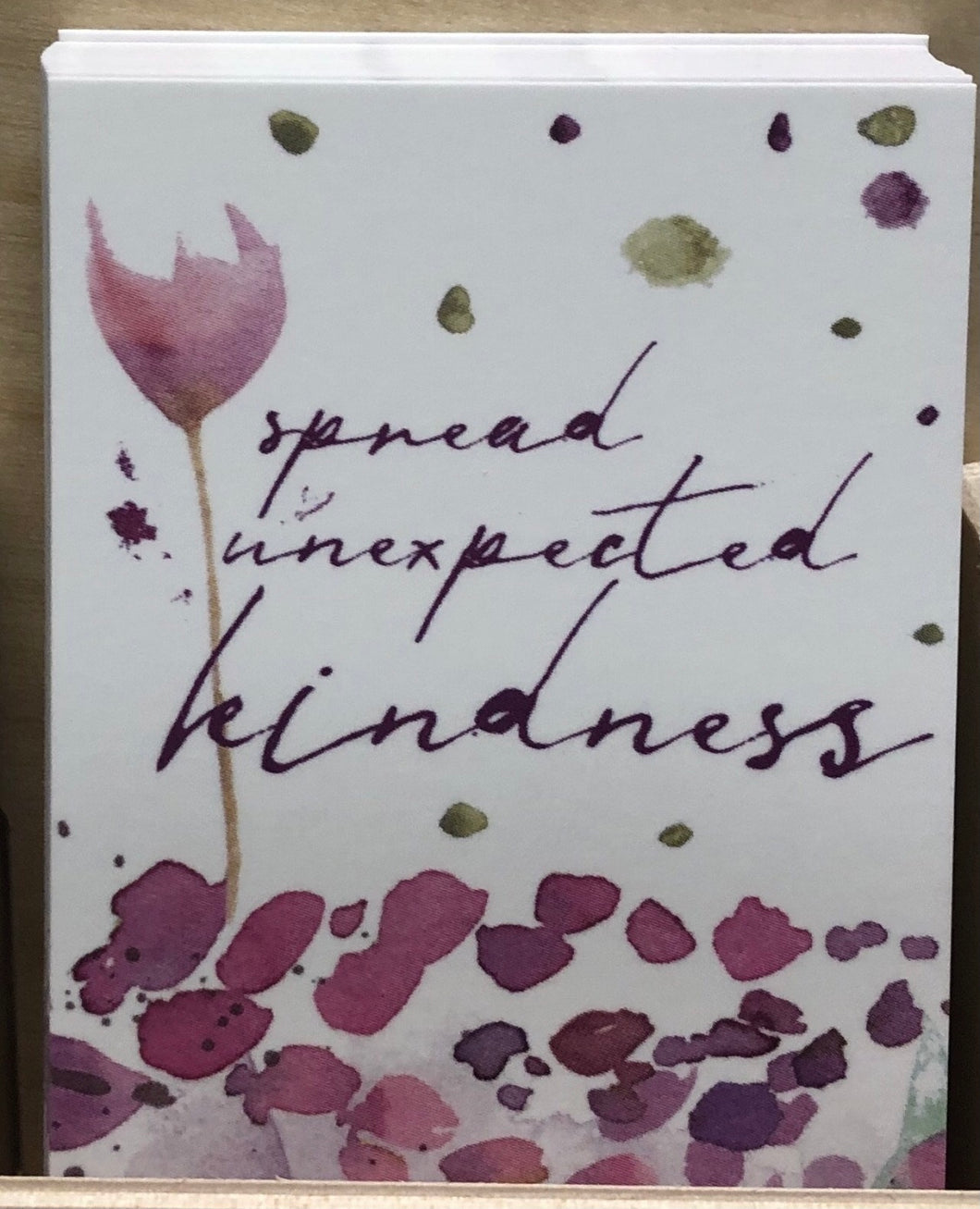 Prayer Life Share Card - Spread Unexpected Kindness