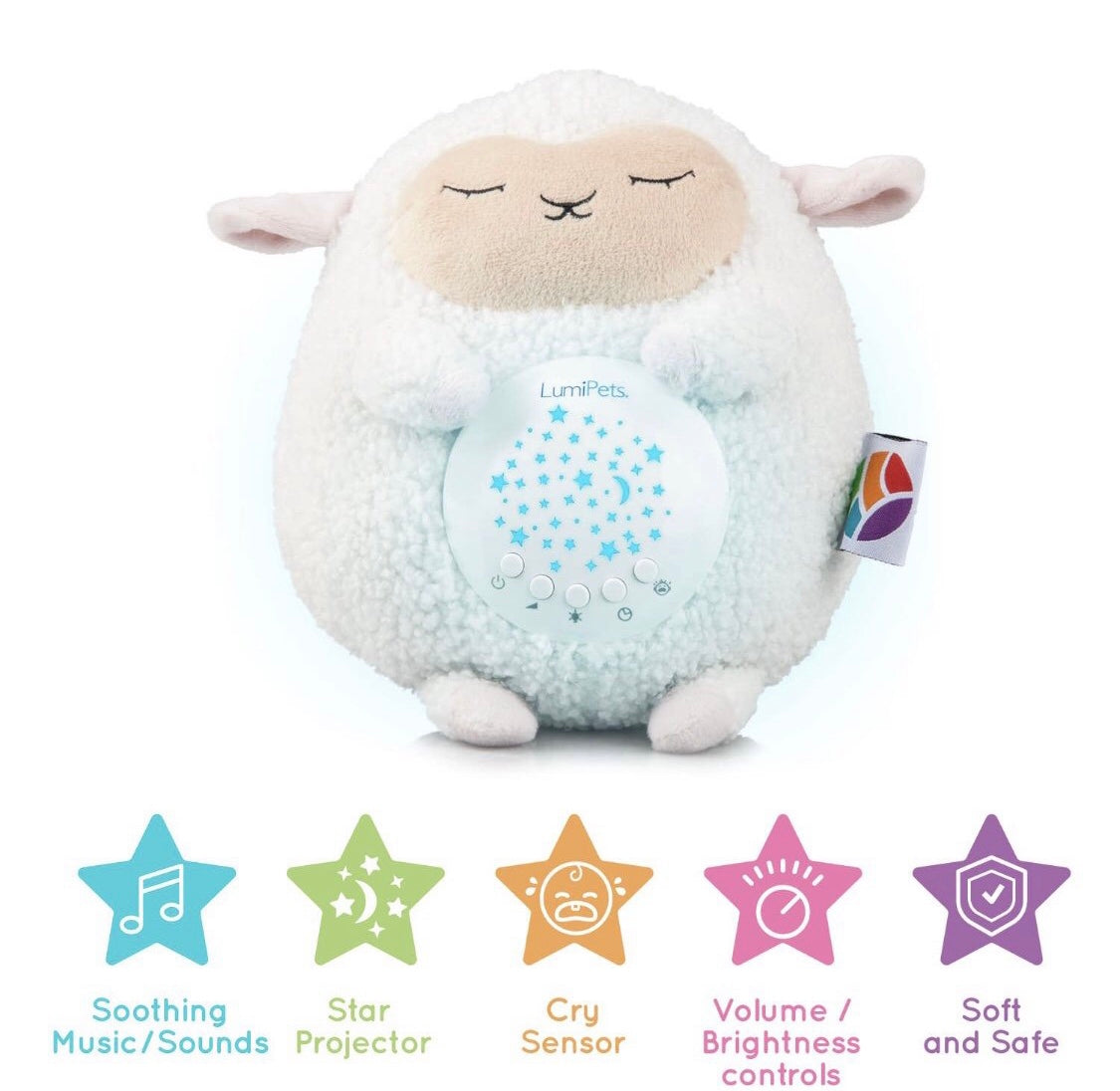 Plush Sound Soother - Lamb