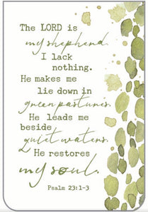 Lord is My Shepherd Bookmark