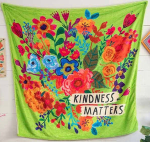 Tapestry Blanket - Kindness Matters