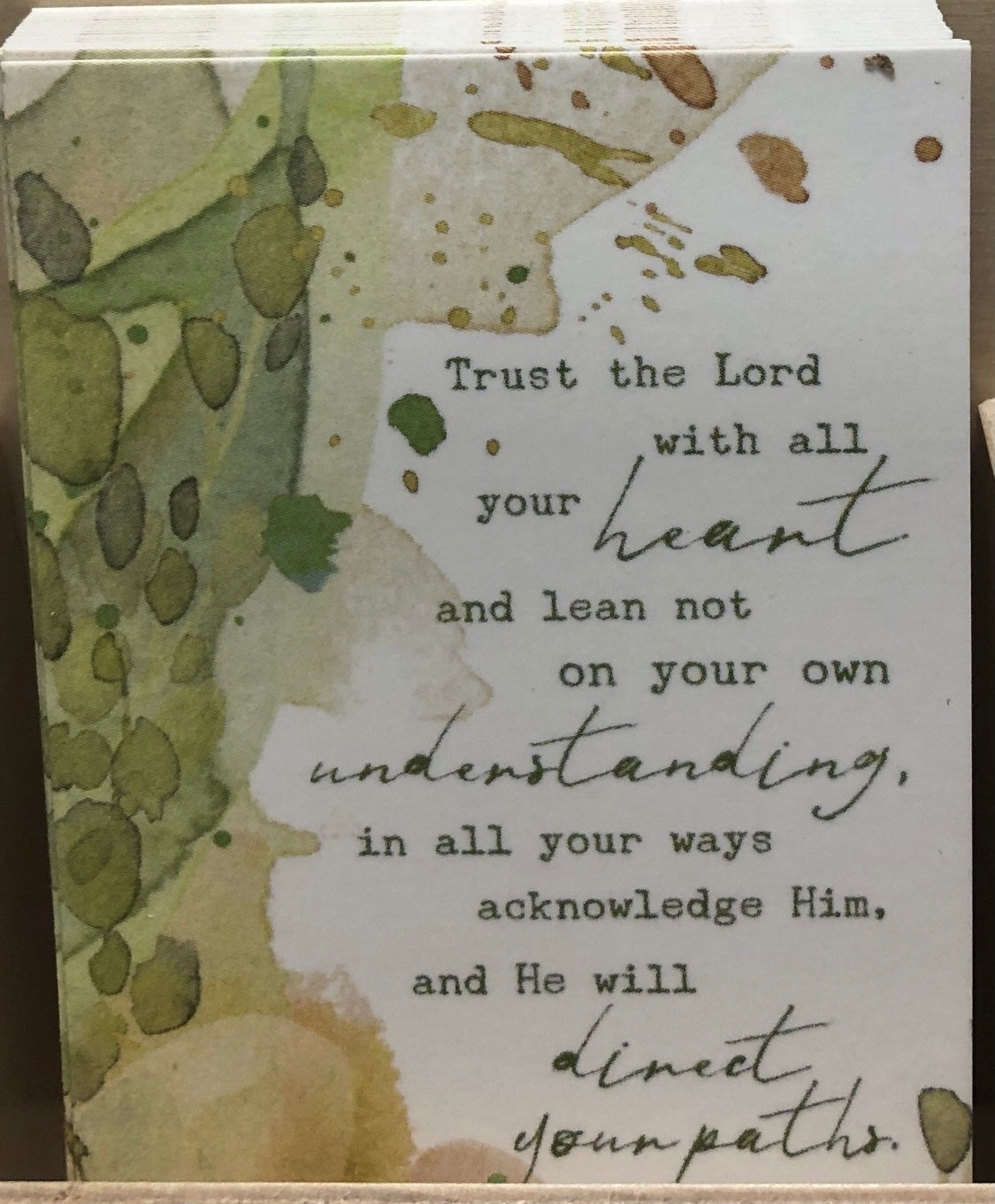 Prayer Life Share Card - Trust the Lord
