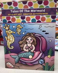 Do-A-Dot Activity Book - Tales of the Mermaid