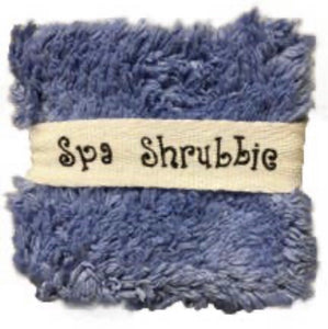 Spa Shrubbie - Blue Iris