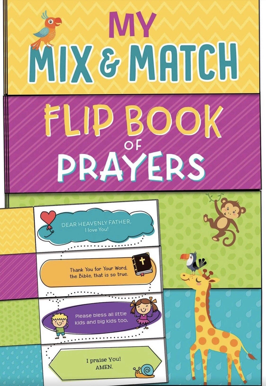 My Mix and Match Flip Book of Prayers